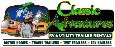 Classic Adventures RV and Utility Trailer Rentals & Sales